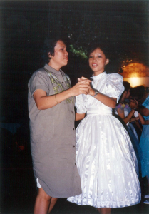 Mama and me during our Grade 6 prom